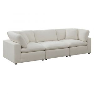 Picket House Furnishings Haven 3pc Sectional Sofa In Cotton - UCL30553PC
