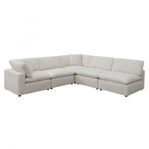 Picket House Furnishings Haven 5pc Sectional Sofa In Cotton - UCL30555PC