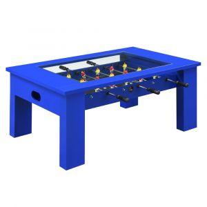 Picket House Furnishings Rebel Foosball Gaming Table In Blue - GTGG400FTE