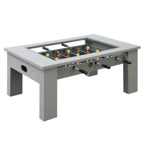 Picket House Furnishings Rebel Foosball Gaming Table In Gray - GTGG300FTE