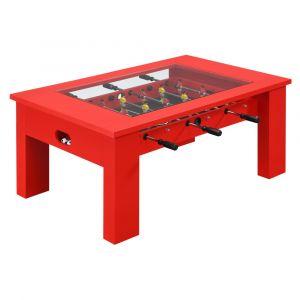 Picket House Furnishings Rebel Foosball Gaming Table In Red - GTGG900FTE