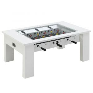 Picket House Furnishings Rebel Foosball Gaming Table In White - GTGG700FTE