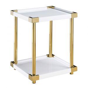 Pulaski - Ariene Modern Gold And White Accent Table - P020039 - CLOSEOUT