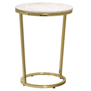 Pulaski - Emory Marble Top Round Accent Table - P020400 - CLOSEOUT