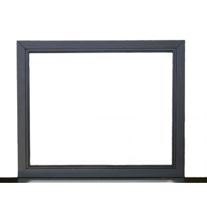 Pulaski - Graphite Metal Landscape Mirror - 8942-430