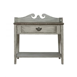 Pulaski - Sophia Weathered Grey Accent Table - DS-P050057 - CLOSEOUT