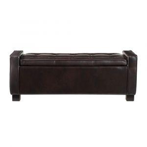 Pulaski - Tufted Storage Bench�- Brown - 156-C240-900-1