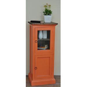 Sunset Trading - Cottage Glass Door Storage Cabinet - CC-CAB513TLD-CRRW
