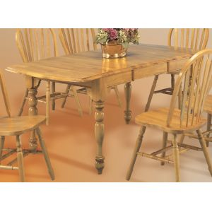 Sunset Trading - Drop Leaf Extension Dining Table in Light Oak Finish - DLU-TDX3472-LO