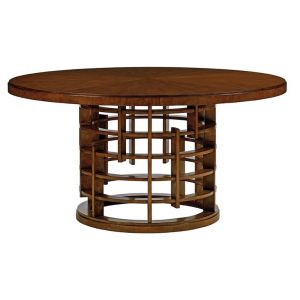 Tommy Bahama Home - Island Fusion Meridian Round Dining Table With 60-Inch Wood Top - 01-556-875C