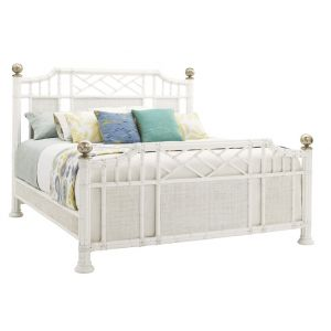 Tommy Bahama Home - Ivory Key Pritchards Bay Queen Panel Bed - 01-0543-133C