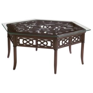 Tommy Bahama Outdoor - Black Sands Hexagonal Cocktail Table - 01-3235-943C
