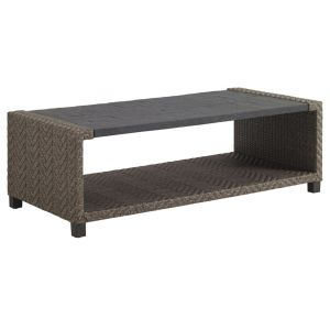 Tommy Bahama Outdoor - Blue Olive Rectangular Cocktail Table - 01-3230-945