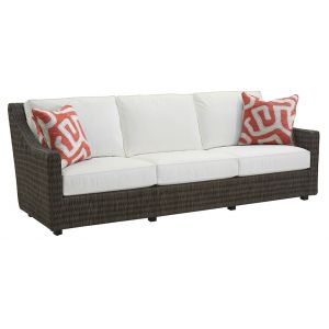 Tommy Bahama Outdoor - Cypress Point Ocean Terrace Long Sofa Red - 01-3900-33-40