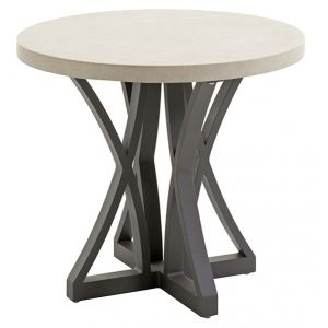 Tommy Bahama Outdoor - Cypress Point Ocean Terrace Side Table with Weatherstone Top - 01-3900-951