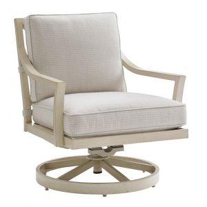 Tommy Bahama Outdoor - Misty Garden Swivel Rocker Lounge Chair Light Neutral - 01-3239-11SR-40