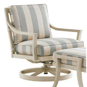 Tommy Bahama Outdoor - Misty Garden Swivel Rocker Lounge Chair White - 01-3239-11SR-41
