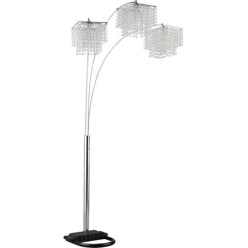 Coaster - Floor Lamp (Chrome) - 901484