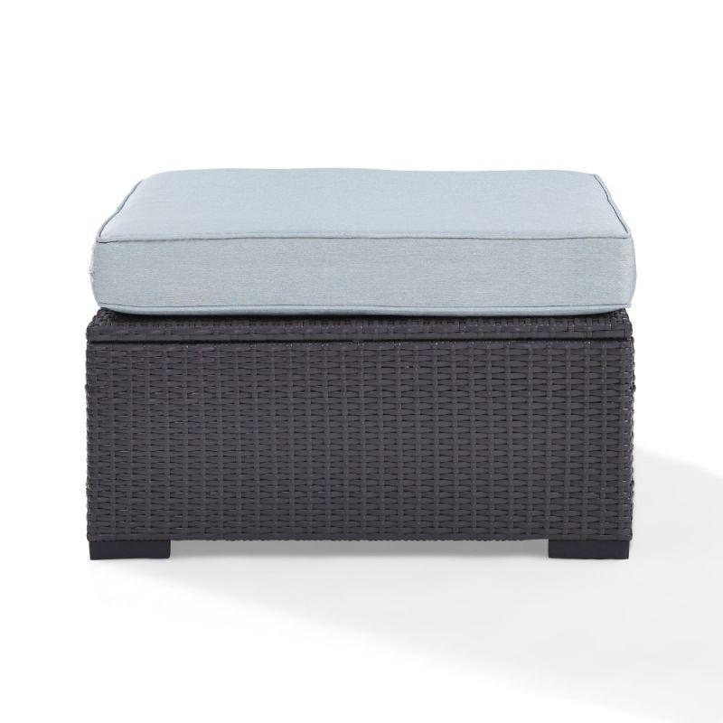Crosley Furniture - Biscayne Ottoman With Midst Cushions - KO70127BR-MI