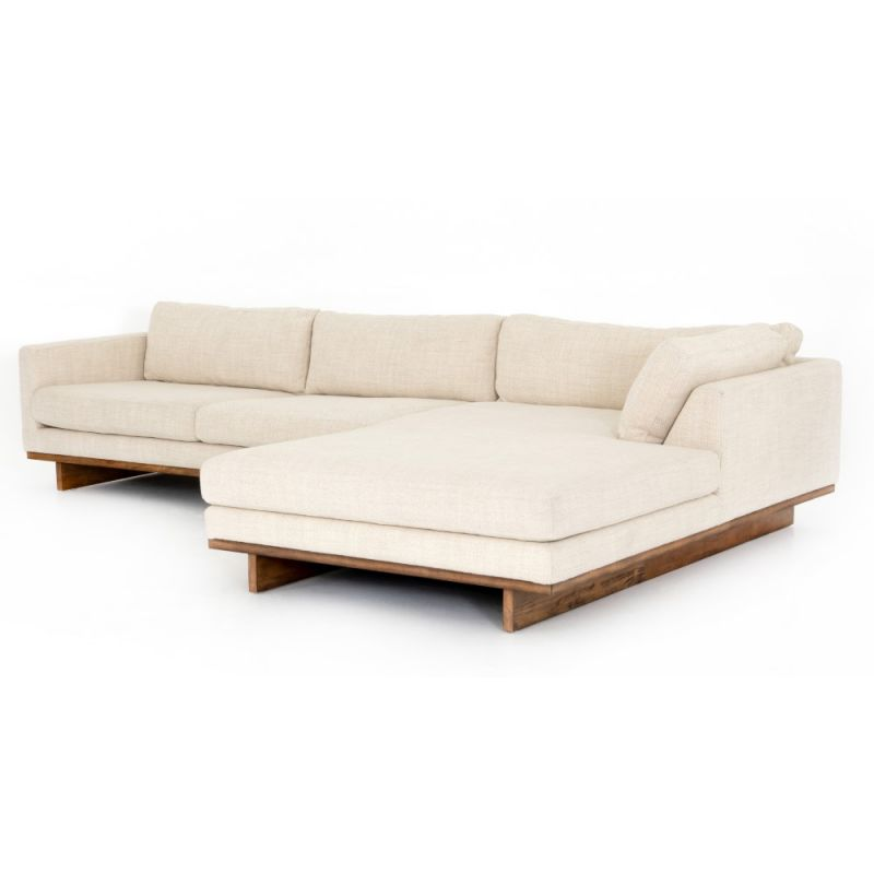 Four Hands Everly 2 Pc Sectional Raf, Is Four Hands Furniture Good Quality
