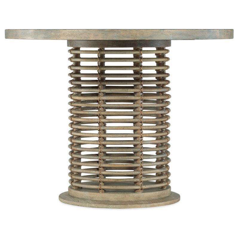 Hooker Furniture - Surfrider 48in Rattan Bistro Table - 6015-75303-80