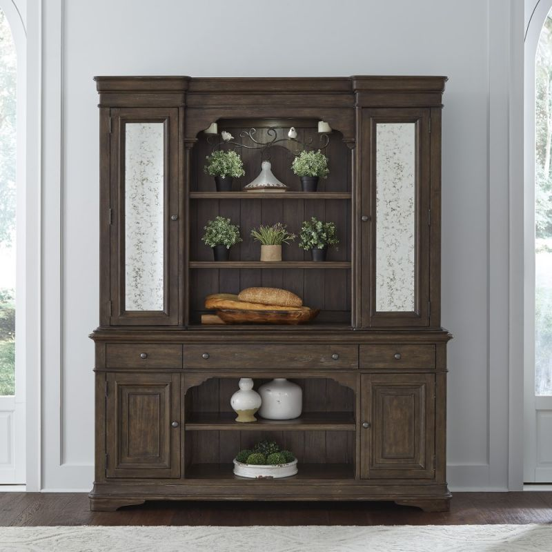 Liberty Furniture - Homestead Hutch & Buffet - 693-DR-HB