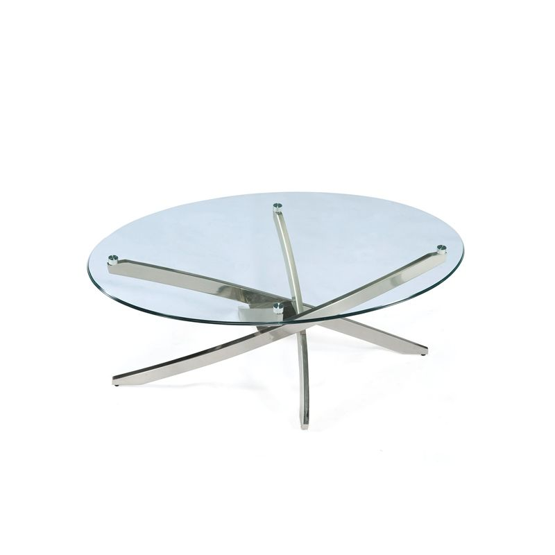 Magnussen - Zila Oval Cocktail Table - T2050-47T_T2050-47B