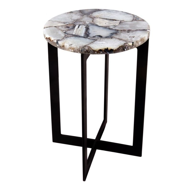 Moe's Home - Blanca Agate Accent Table - PJ-1012-18