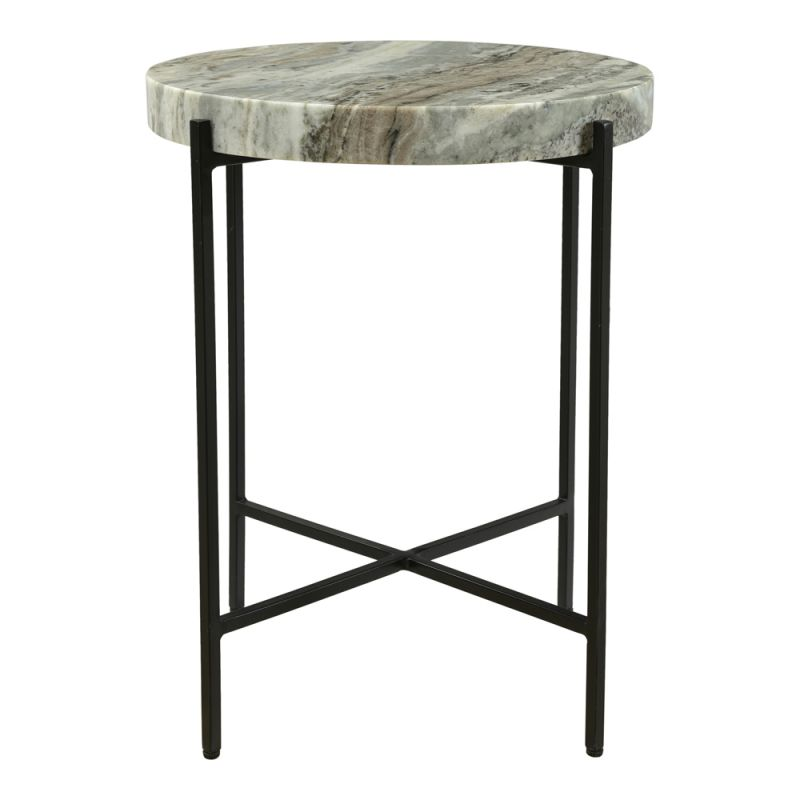Moe's Home - Cirque Accent Table in Sand - IK-1010-21