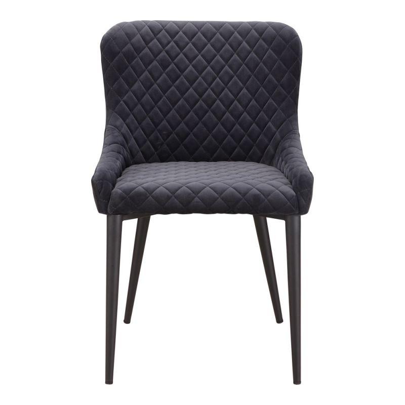 Moe's Home - Etta Dining Chair in Dark Grey - ER-2047-25