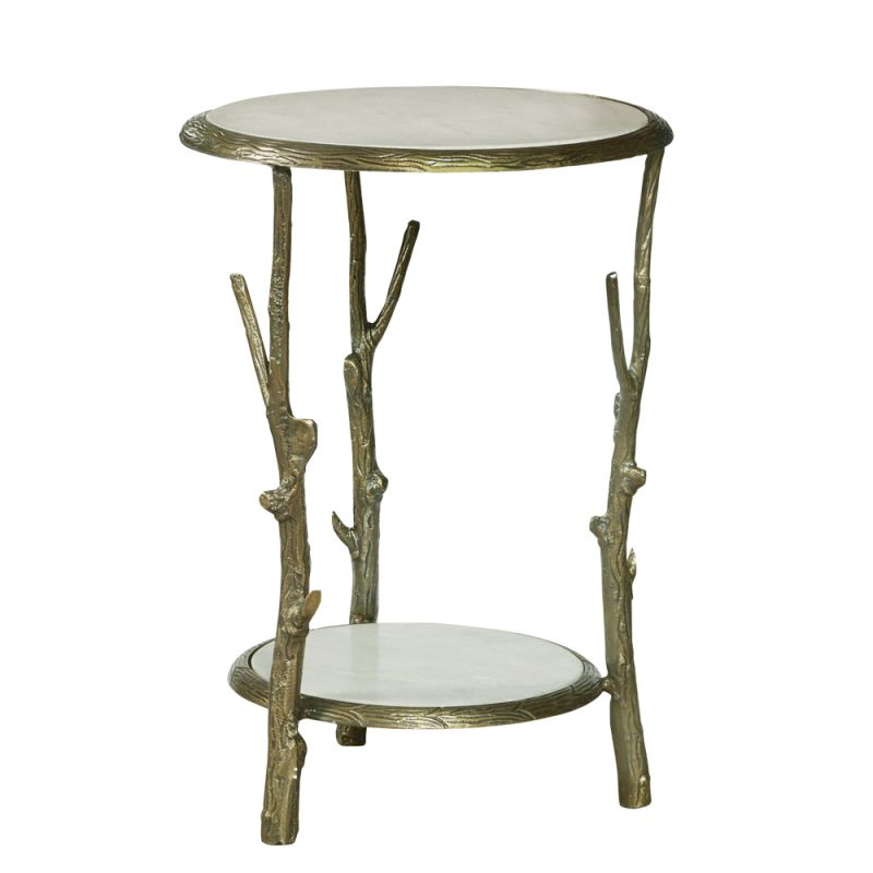 Pulaski - Brady Round Marble Top Accent Table - P020409 - CLOSEOUT