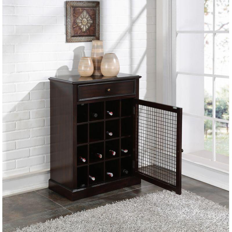 Pulaski - Wine Cabinet In Dark Wood - DS-2188-304
