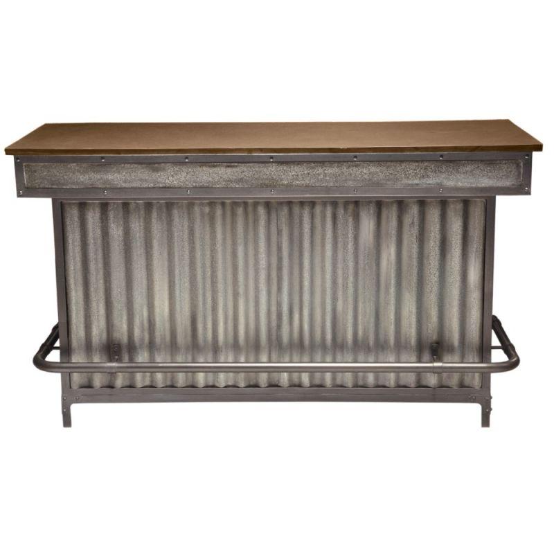 Pulaski - Wood and Metal Bar - P006153